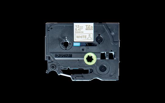 Originele Brother TZe-R234 lintcassette - goud op wit, 12 mm breed 2
