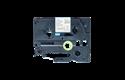 Cassette à ruban tissu TZe-R234 Brother originale – Or sur blanc, 12mm de large 2