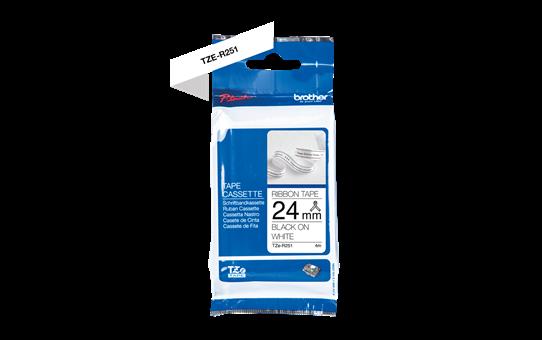 TZe-R251 ruban tissu 24mm 2