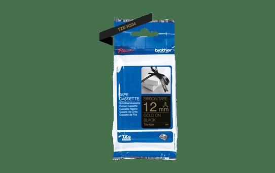 TZe-R334 ruban tissu 12mm 2
