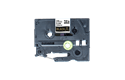Genuine Brother TZe-R354 Ribbon Tape Cassette – Gold on Black, 24mm wide 3