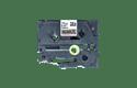 Äkta Brother TZe-R931 satinbandskassett – svart på silver, 12 mm brett band 5
