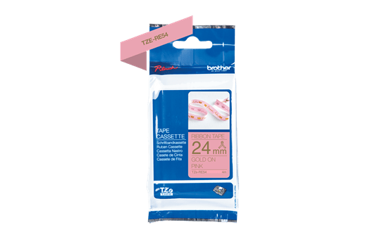 TZe-RE54 ruban tissu 24mm 3