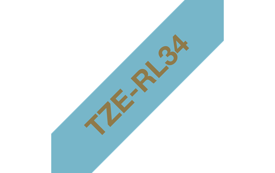 TZe-RL34 ruban tissu 12mm