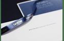 Ruban tissu pour étiqueteuse TZe-RN34 Brother original – Or sur bleu nuit, 12mm de large 4