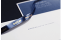 Genuine Brother TZe-RN34 Labelling Tape Ribbon– Gold on Navy Blue, 12mm wide 3