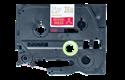 Cassette à ruban tissu TZe-RW34 Brother originale – Or sur bordeaux, 12mm de large 2