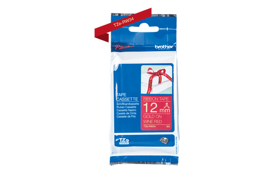 TZe-RW34 ruban tissu 12mm 3