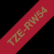 Cinta satinada no adhesiva TZeR254 Brother