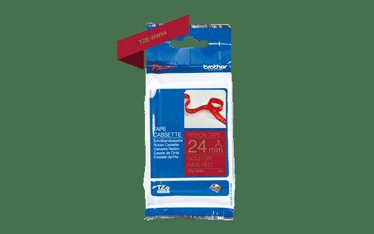 TZe-RW54 ruban tissu 24mm 3
