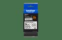 Brother TZeS121: оригинальная кассета с лентой с мощной клейкой поверхностью для печати наклеек черным на прозрачном фоне, ширина: 9 мм. 2