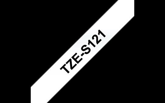 TZe-S121 ruban d'étiquettes adhésif puissant 9mm