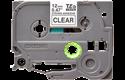 Cassette à ruban pour étiqueteuse TZe-S131 Brother originale – Noir sur transparent, 12mm de large 2