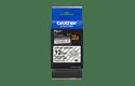 Cassetta nastro per etichettatura originale Brother TZe-S131 – Nero su trasparente, 12 mm di larghezza 2