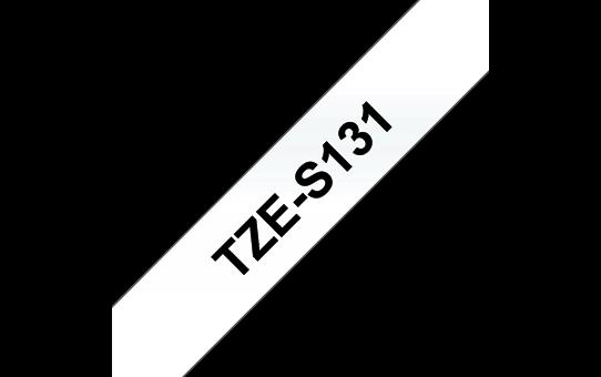 TZe-S131 sterk klevende labeltape 12mm