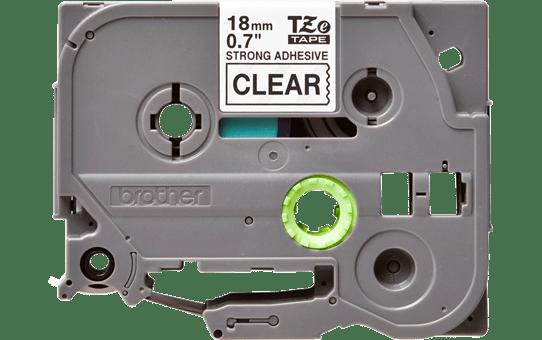 TZe-S141 ruban d'étiquettes adhésif puissant 18mm 2