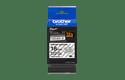 Cassetta nastro per etichettatura originale Brother TZe-S141 – Nero su trasparente, 18 mm di larghezza 2