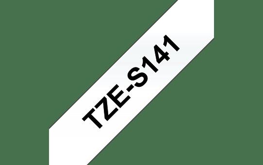 TZe-S141 ruban d'étiquettes adhésif puissant 18mm