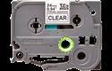 Cassette à ruban pour étiqueteuse TZe-S151 Brother originale – Noir sur transparent, 24 mm de large 2