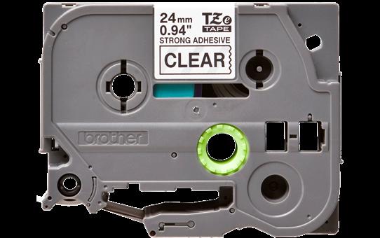 TZe-S151 ruban d'étiquettes adhésif puissant 24mm 2