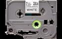 Original Brother TZeS211 tape – sort på hvid, 6 mm bred 2