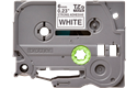 Originele Brother TZe-S211 sterk klevende label tapecassette - zwart op wit, breedte 6 mm 2