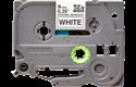 Cassetta nastro per etichettatura originale Brother TZe-S221 – Nero su bianco, 9 mm di larghezza