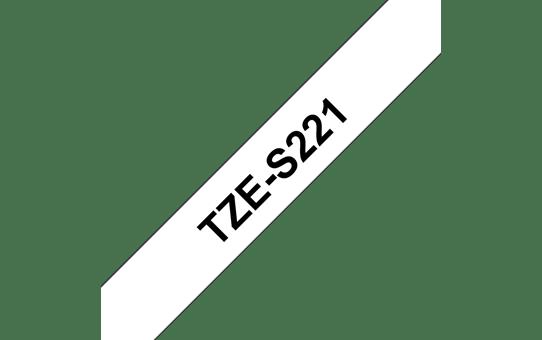TZe-S221 ruban d'étiquettes adhésif puissant 9mm
