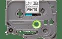 Original TZe-S231 Schriftbandkassette von Brother – Schwarz auf Weiß, extra-stark haftend, 12 mm breit 2