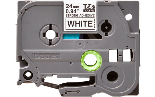 Genuine Brother TZe-S251 Labelling Tape Cassette – Black on White, 24mm wide 2