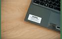 Cassette à ruban pour étiqueteuse TZe-S261 Brother originale – Noir sur blanc, 36mm de large 4