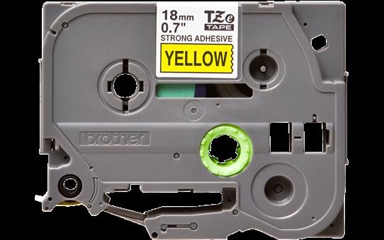Brother TZe-S641 Schriftband – schwarz auf gelb 3