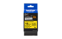 Cassetta nastro per etichettatura originale Brother TZe-S641 – Nero su giallo, 18 mm di larghezza 2