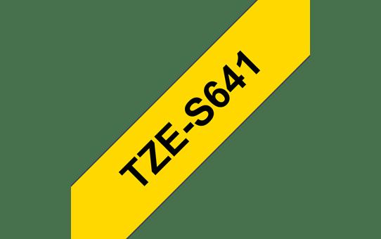 Tze-S641 ruban d'étiquettes adhésif puissant 18mm
