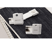 Guide pose biais SA230CV sur tissu denim avec biais à pois