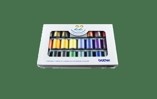 Brother Borduurgarenset ETS22N - 22 kleuren