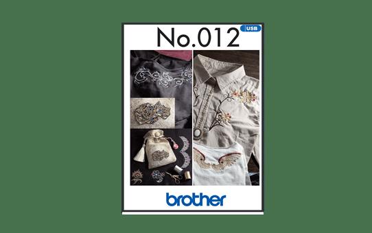 Collection de motifs de broderie n°12 BLECUSB12