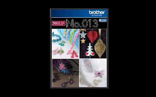 Collection de motifs de broderie n°13 BLECUSB13