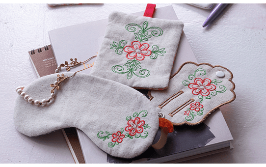 Collection de motifs de broderie n° 15 BLECUSB15 5