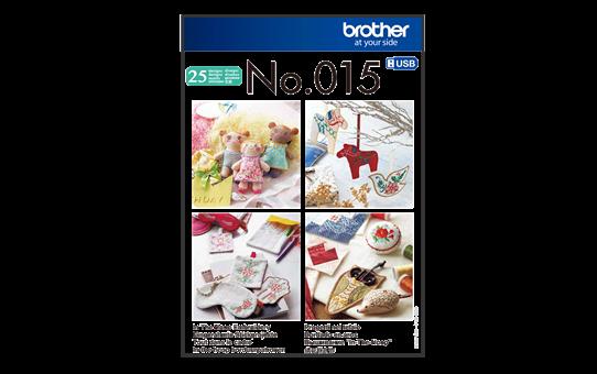 Collection de motifs de broderie n°15 BLECUSB15