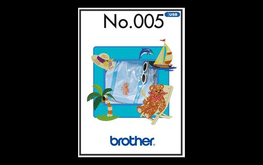 BLECUSB5 Stickmuster-Kollektion 5