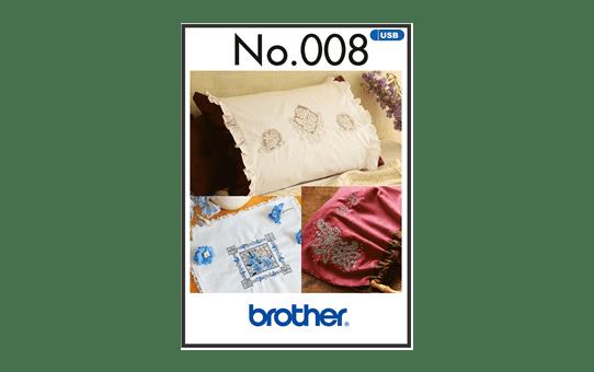 BLECUSB8 Ricami Brother Collezione 8