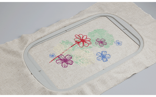 Large 30 x 20cm embroidery frame EF92