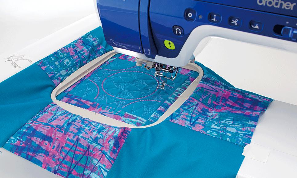 Quadratischer Stickrahmen 15 x 15 cm SEF150