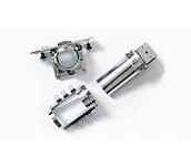 Lot de 3cadres cylindriques PRCL1: support, cadre et assemblage