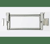 Rechteckiger 300 x 100mm Bordürenrahmen mit Klemmhalter, Arm und USB