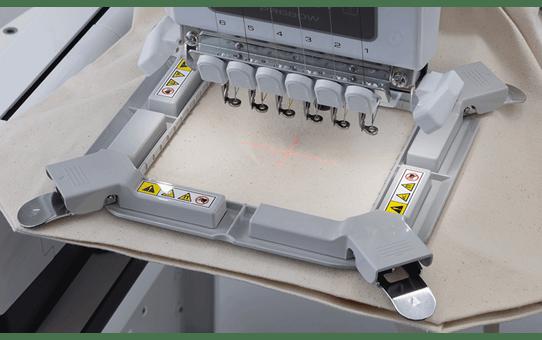 Magnetisch borduurraam voor de PR - 100 x 100mm (alleen borduurraam) PRVMFM 2