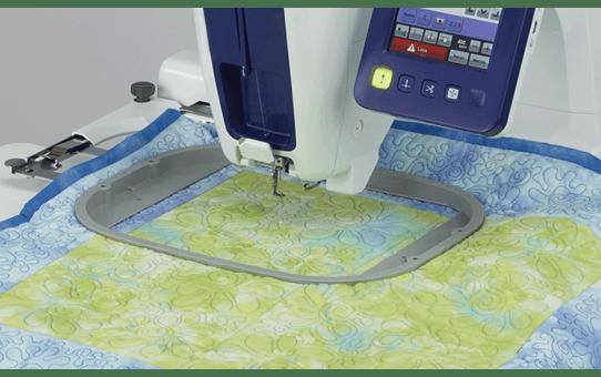 Quadratischer Quiltrahmen VRFF200 grau 200 x 200 mm