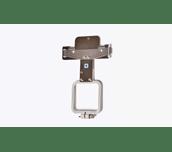Petit cadre de broderie ovale 50x50mm gris pour machines PR et VR