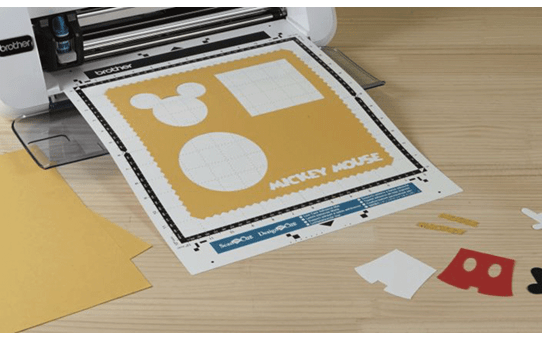 Disney Mickey and Friends Paper design collection CADSNP01 4
